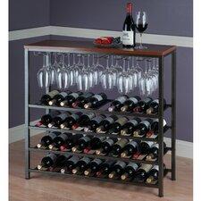 Michelle 40 Bottle Hanging Wine Rack