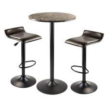 Cora 3 Piece Pub Table Set