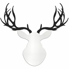 Contemporary Buck Deer Wall Decor