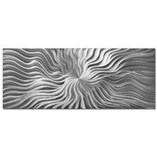 Metal Wall Art 'Flexure' Original Modern Metal Artwork