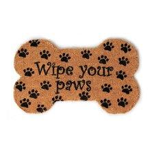 Handmade Wipe Your Paws Doormat