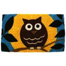 Handmade Wise Owl Doormat