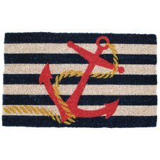 Handmade Anchor Doormat