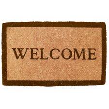 Handmade Simply...Welcome Doormat