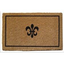 Handmade Fleur Dy Lys Doormat