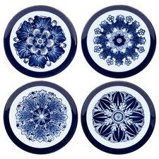 "Rosette Canape 6.25"" Dessert Plate (Set of 4)"