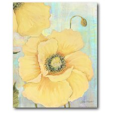 Large Flowers II Gallery Wrapped Canvas