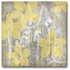 Flower II Gallery Wrapped Canvas