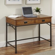 Modern Craftsman Computer Desk with Drawers