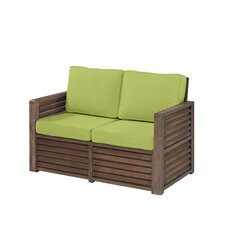 Barnside Deep Seating Loveseat with Cushions
