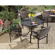 Stone Harbor 5 Piece Outdoor Dining Set