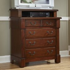 Aspen 4 Drawer Media Chest