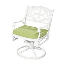Biscayne Cushioned Swivel Chair
