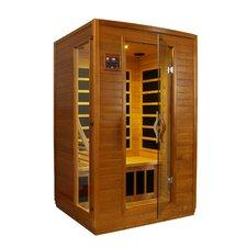Luxury 2 Person IR Carbon FAR Infrared Sauna