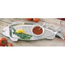 Aluminum Fish Serving Tray