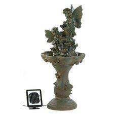 Fairy Friends Solar Water Fountain