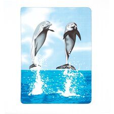 Dancing Dolphins Throw