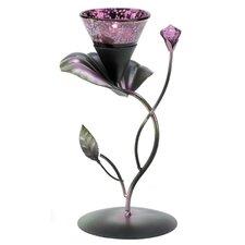 Amethyst Bloom Candle Holder