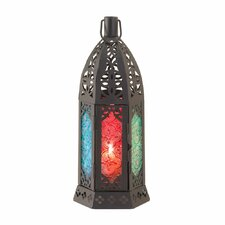 Prism Iron and Glass Lantern