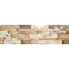 Nebula Travertine Cubic Honed Random Sized Wall Cladding Tile in Mix Rustic