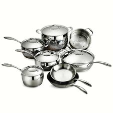 Gourmet Domus 13 Piece Stainless Steel Cookware Set