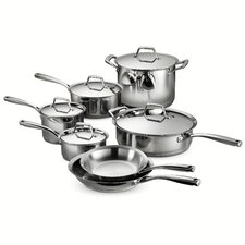 Gourmet Prima 12 Piece Stainless Steel Cookware Set