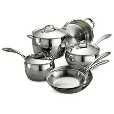 Gourmet Domus 9 Piece Stainless Steel Cookware Set