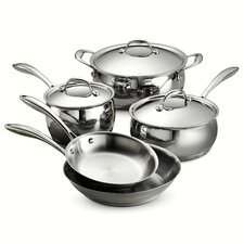 Gourmet Domus 8 Piece Stainless Steel Cookware Set