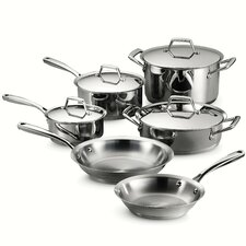 Gourmet Prima 10 Piece Stainless Steel Cookware Set