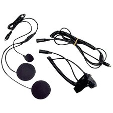 Closed-Face Helmet Headset with Speaker/Microphone