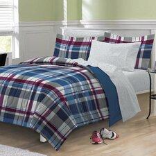 Varsity Plaid Bed Set