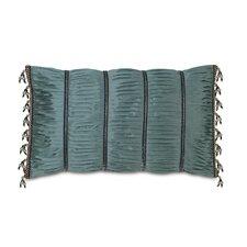 Monet Edris Mineral Ruched Down Throw Pillow