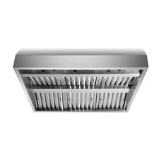 "42"" 2000 CFM Under Cabinet Range Hood in Stainless Steel"