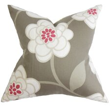 Junot Floral Cotton Throw Pillow