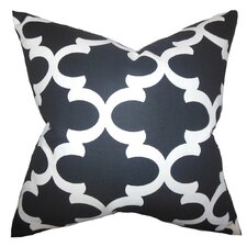 Titian Geometric Cotton Throw Pillow