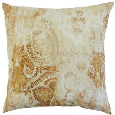Havilah Floral Linen Throw Pillow