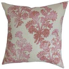 Eara Floral Linen Throw Pillow