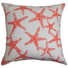 Ilene Coastal Cotton Throw Pillow