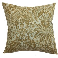 Harmony Floral Silk Throw Pillow Cover