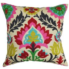 Tahsis Floral Cotton Throw Pillow