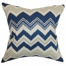 Quirindi Zigzag Cotton Throw Pillow