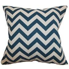 Xayabury Zig Zag Cotton Throw Pillow