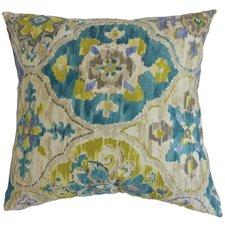 Vina Floral Cotton Throw Pillow