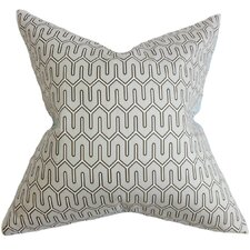 Aleeza Geometric Cotton Throw Pillow
