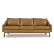 Dutch Leather Reclining Sofa