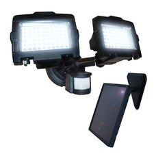 LED Dual Lamp Outdoor Solar Security Light