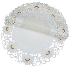 Victorian Elegance Round Doily (Set of 4)