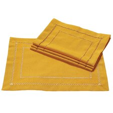 Handmade Double Hemstitch Easy Care Placemat (Set of 4)