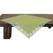 Laurel Embroidered Cutwork Table Topper