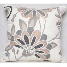 Flora Cotton Throw Pillow